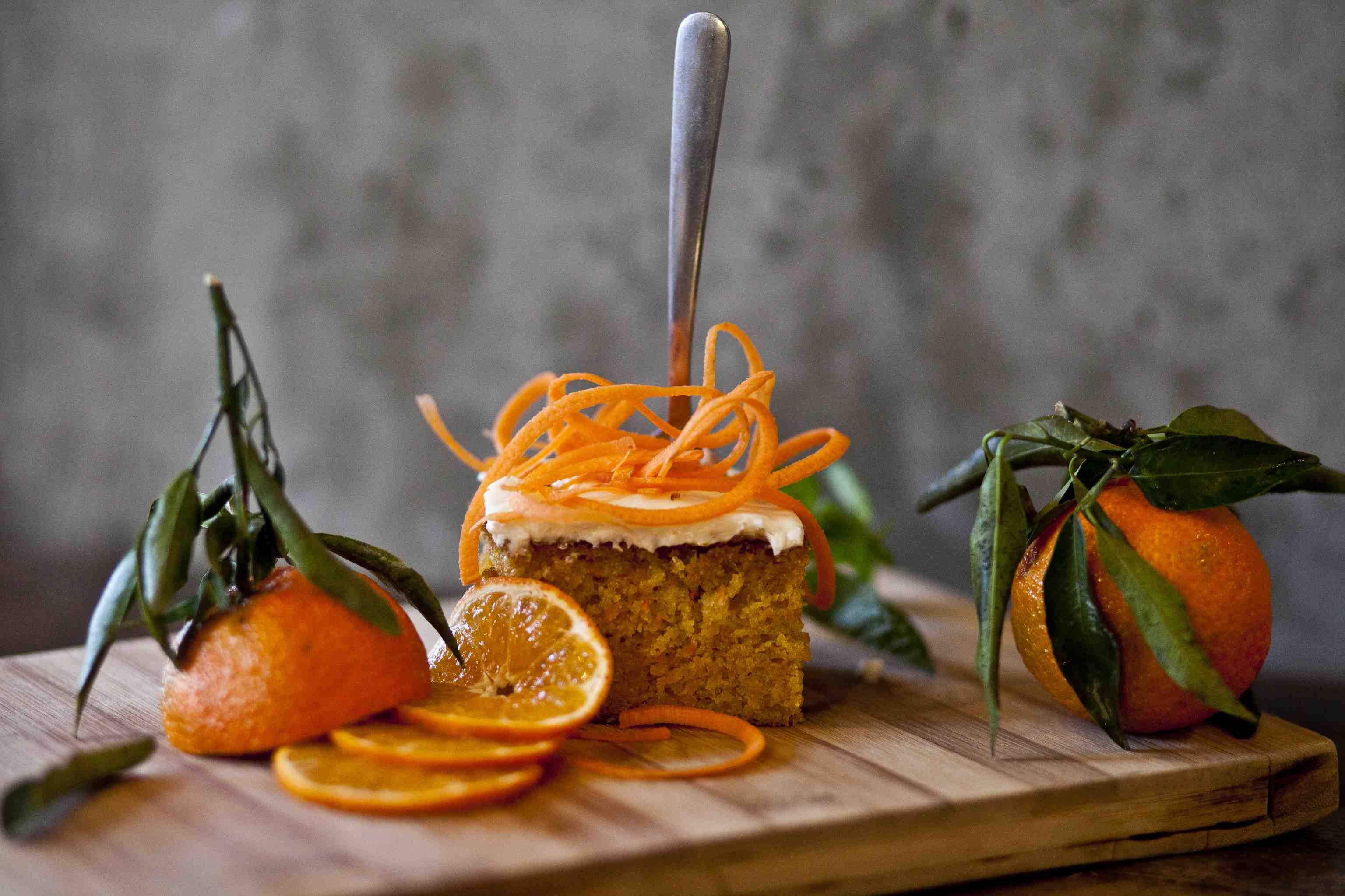 Le fameux gâteau aux carottes